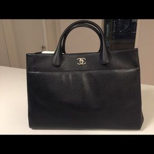 Chanel Executive Cerf Shopping Bag Tote